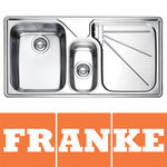 View Item Franke Ariane 1.5 Bowl Silk Stainless Steel Kitchen Sink & Waste RHD ARX654