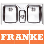 View Item Franke Ariane 2.5 Bowl Silk Stainless Steel Kitchen Sink & Waste ARX670