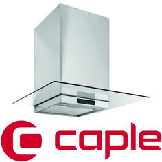 View Item Caple Stainless Steel and Clear Glass Wall Chimney Hood FGC610