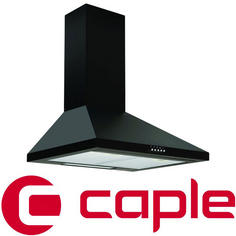 View Item Caple Black Wall Chimney Hood CCH6BK