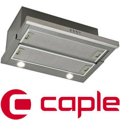 View Item Caple Stainless Steel and Grey Built-Under Telescopic Hood TSCH