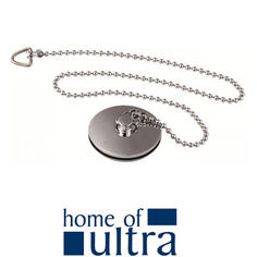 View Item Ultra Chrome Bath Plug And Chain E315