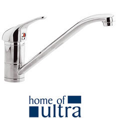 View Item Ultra Eon Single Lever Chrome Mono Kitchen Sink Mixer Tap KA306