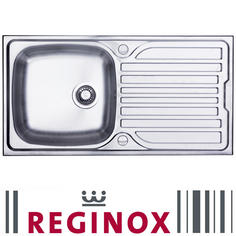 View Item Reginox Monaco 1.0 Bowl Stainless Steel Kitchen Sink
