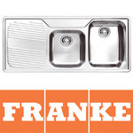 View Item Franke Ariane 1.5 Bowl Stainless Kitchen Sink ARX621 L