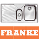 View Item Franke Ariane 1.5 Bowl Silk Stainless Steel Kitchen Sink LH ARX651