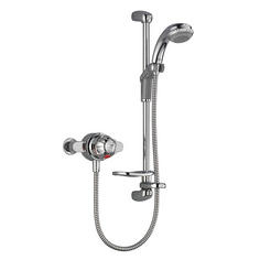 View Item Mira Combiforce 415 EV Chrome Thermostatic Exposed Valve &amp; Shower Kit