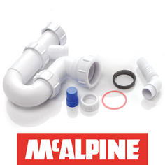 View Item McAlpine 1.0 Bowl Kitchen Sink Plumbing Kit WM15