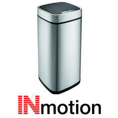 View Item Inmotion 21L Premium Stainless Steel Auto Sensor Kitchen Waste Dust Bin
