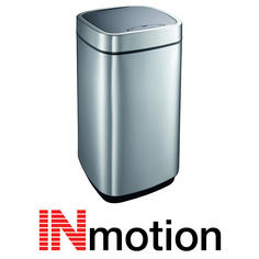View Item Inmotion 40L Premium Stainless Steel Auto Sensor Kitchen Waste Dust Bin