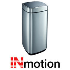 View Item Inmotion 50L Premium Stainless Steel Auto Sensor Kitchen Waste Dust Bin
