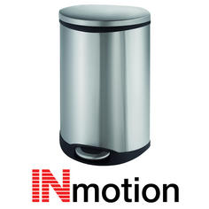 View Item Inmotion 50L Premium Stainless Steel Pedal Kitchen Waste Dust Bin