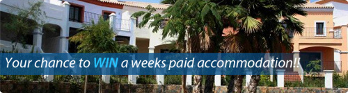 Win a weeks Accommodation