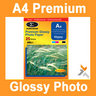 View Item A4 Premium Inkjet Photo Glossy Paper 135gsm 25pack