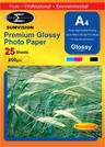 View Item A4 Premium Inkjet Photo Glossy Paper 200gsm 25pack