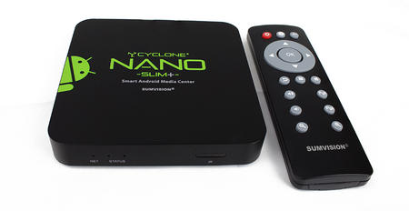 View Item Sumvision Cyclone Nano Slim Plus Smart Media Player LAN with XBMC Installed