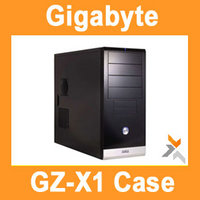 View Item Gigabyte GZ-X1 4 Bay Black Case with 500W PSU Front USB