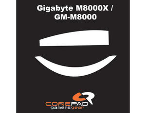 COREPAD Skatez for Gigabyte M8000X / GM-M8000 CS28000 Preview