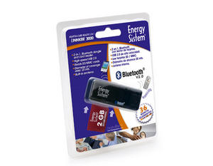 ENERGY SISTEM Linnker 3000 2-in-1 Bluetooth Adapter + Card Reader 369669 Preview