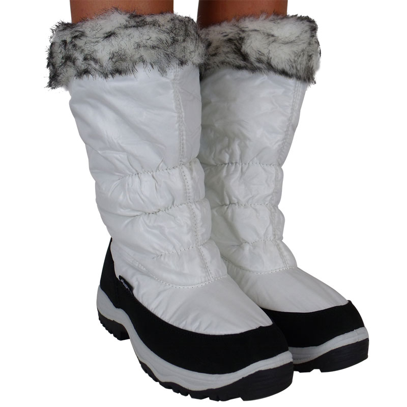 Womens Wide Snow Boots - Cr Boot