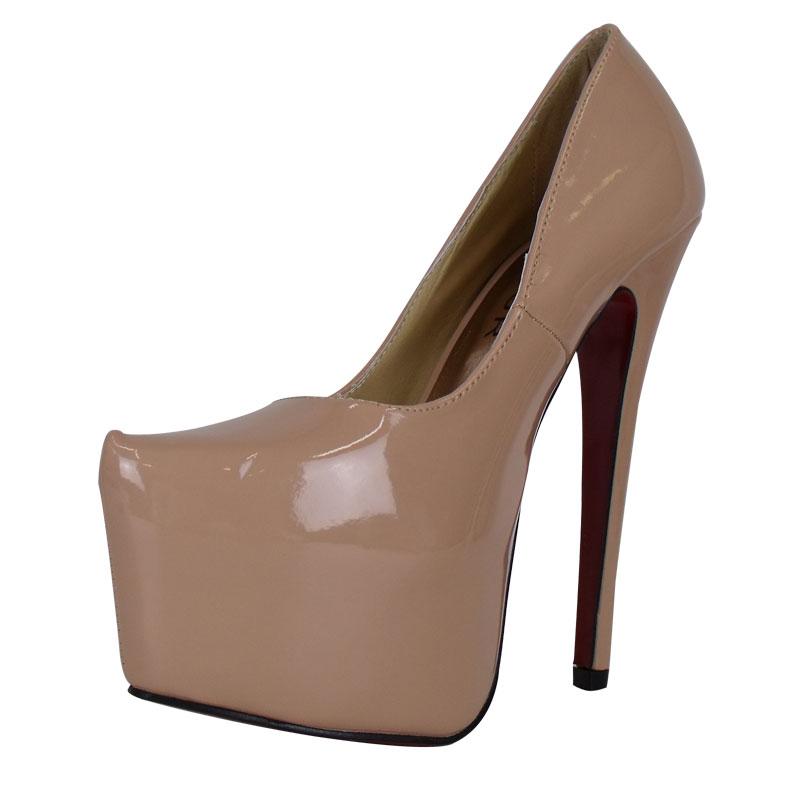 p1b blush patent platform stiletto womens high