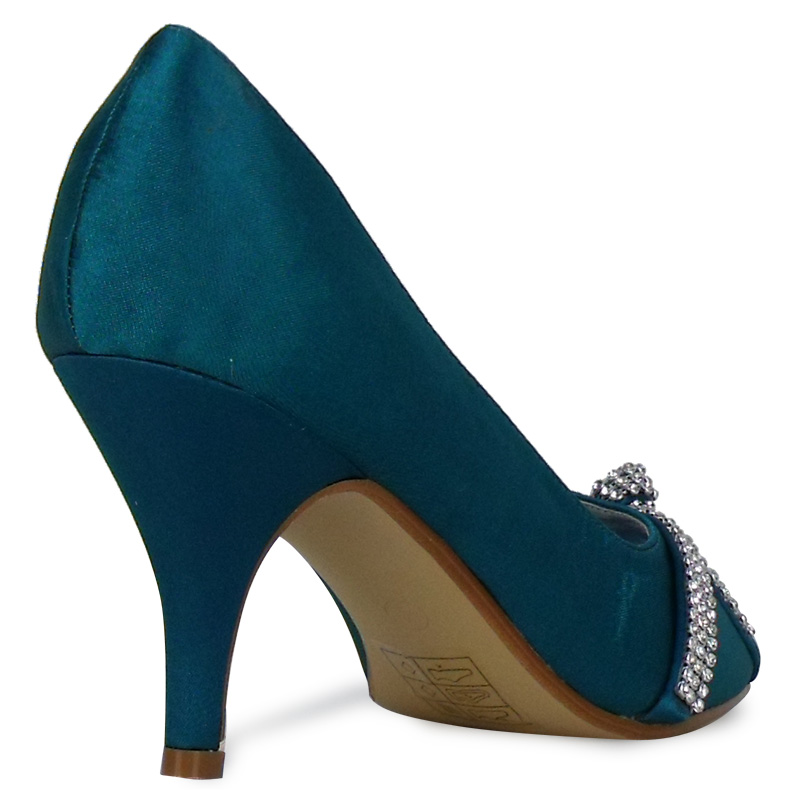 Teal Wedding Shoes 035 - Teal Wedding Shoes