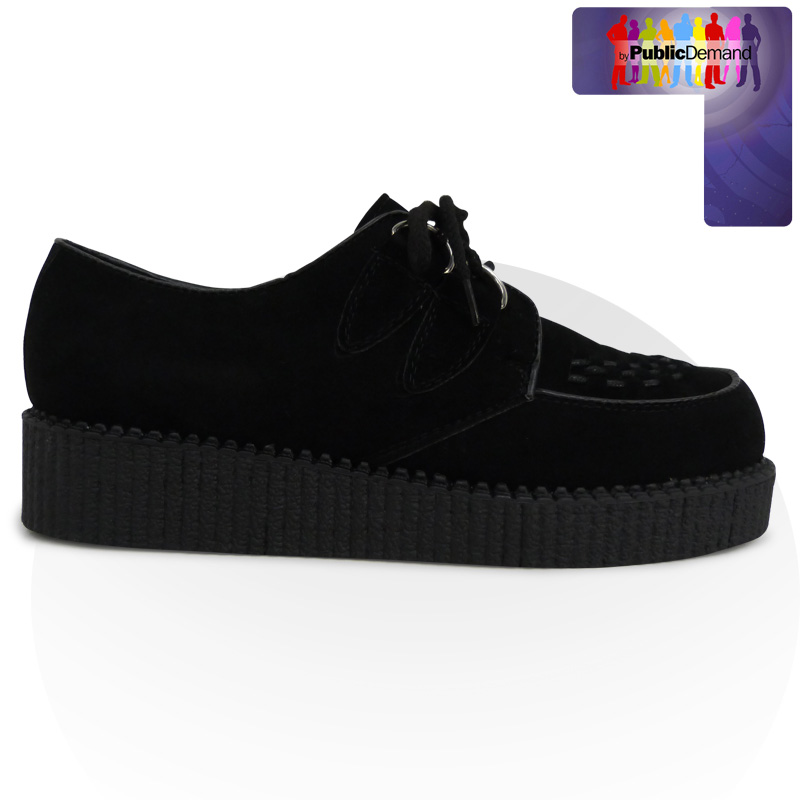 c3d unisex mens womens retro funky creepers lace up