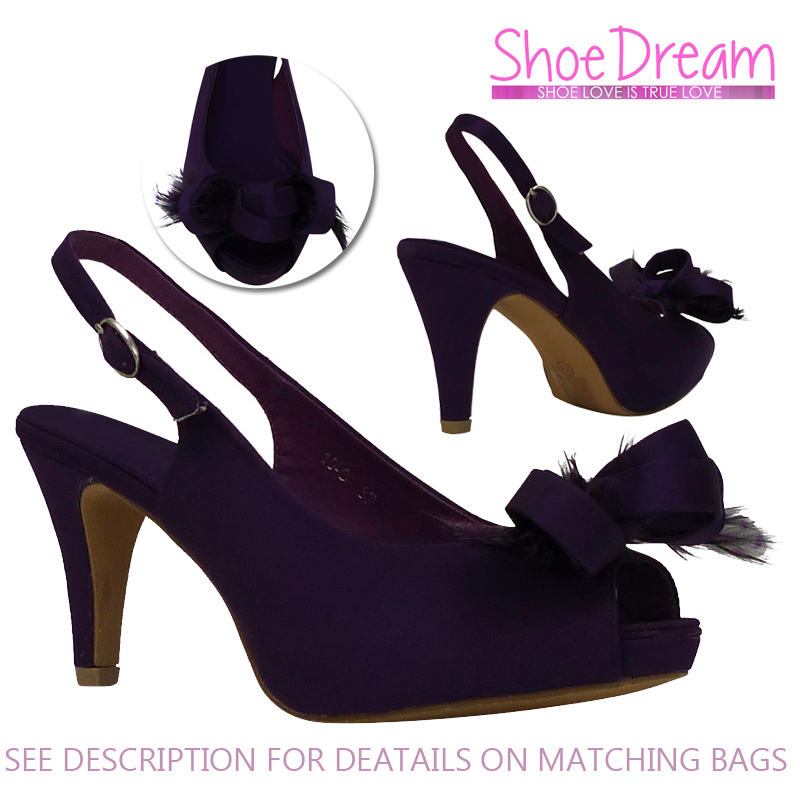 Cadbury Purple Ladies Shoes