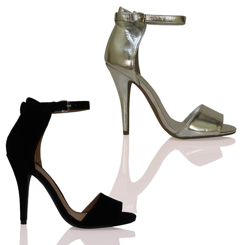 bypublicdemand pumps high heels damen kn chel riemchen. Black Bedroom Furniture Sets. Home Design Ideas