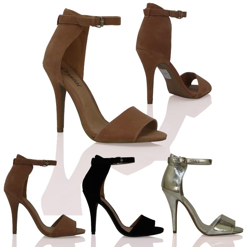 pumps damen st ckelschuhe heels kn chel riemchen schnalle. Black Bedroom Furniture Sets. Home Design Ideas