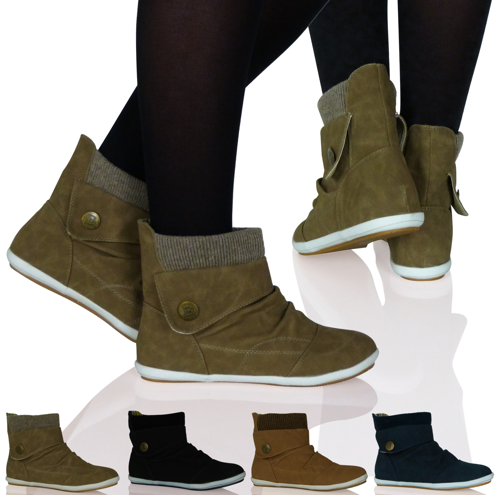 A wardrobe staple, ankle boots will see you through the season! Heels or flats, this versatile design in classic leather or luxurious suede makes a perfect off-duty look. Available in an array of colours, pair the black or brown with denims, and an across the body bag for an understated style.