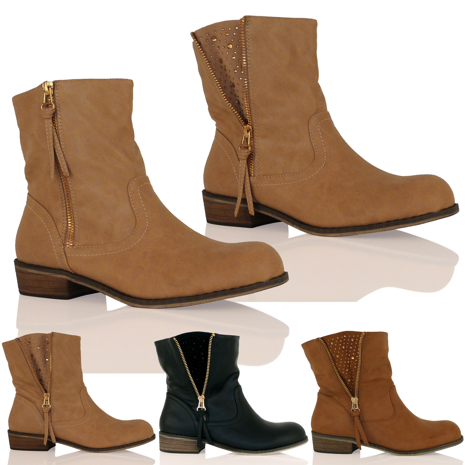 Trendy Ankle Boots - Boot Hto