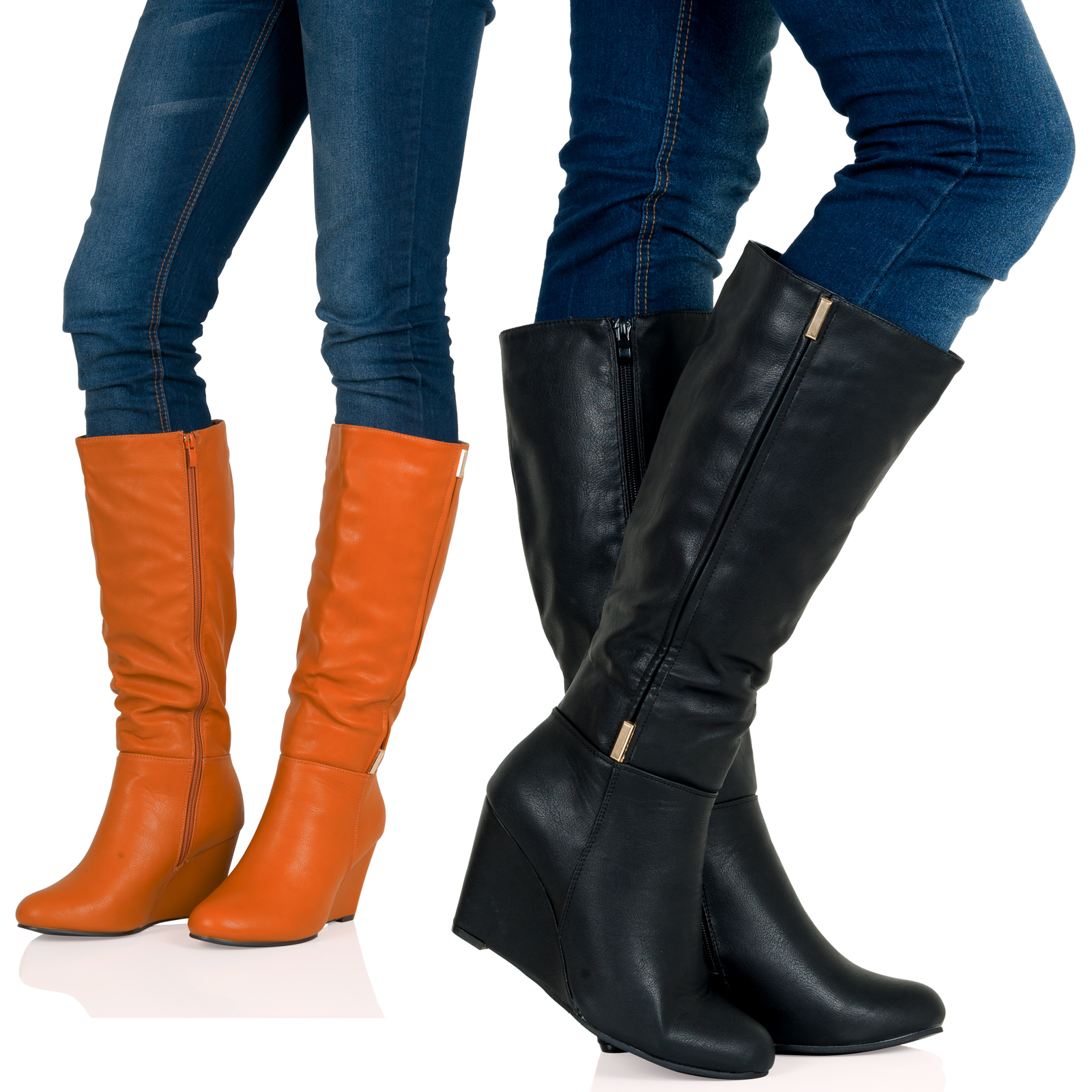 wedge knee high boots boots price reviews 2017