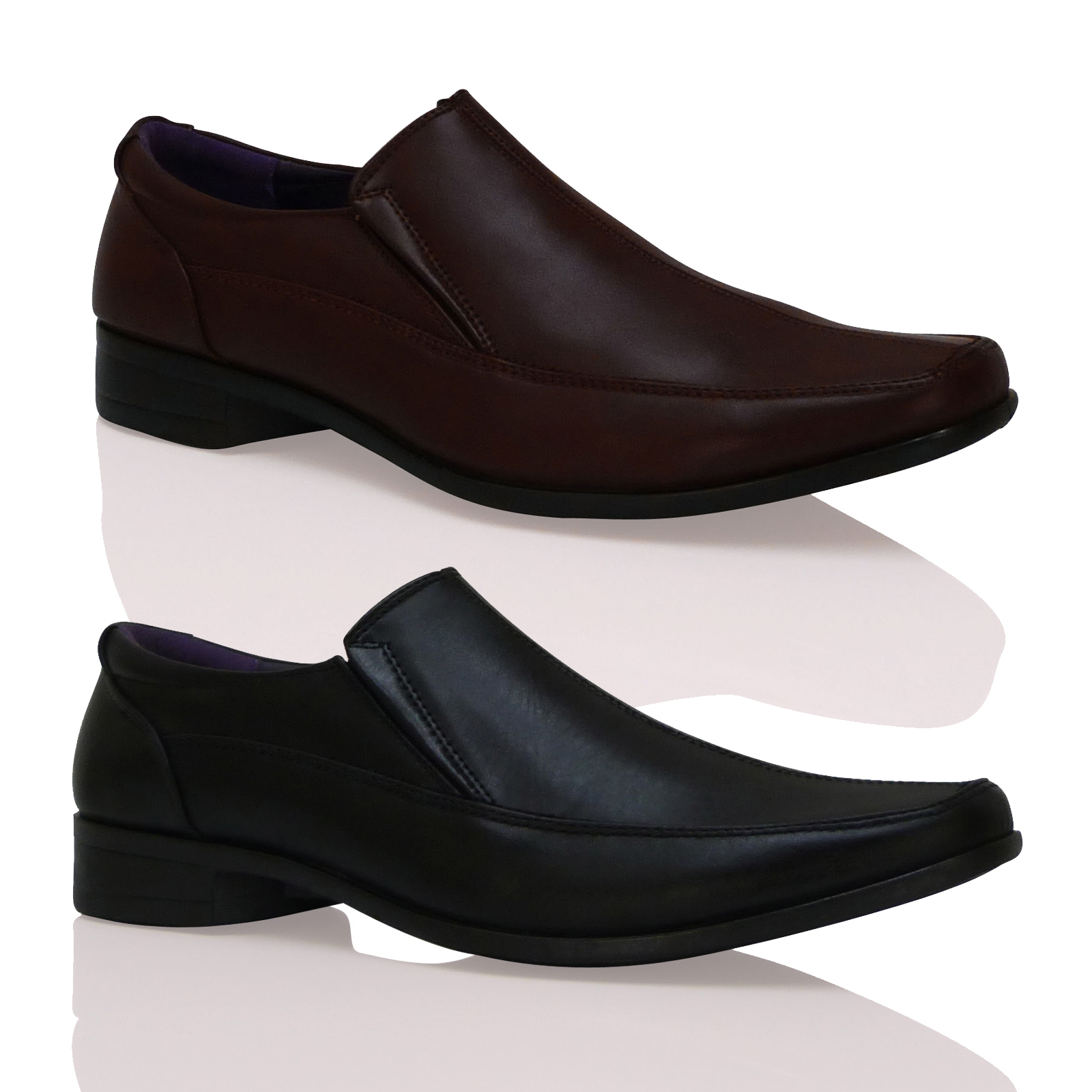 new mens stylish slip on evening comfortable smart