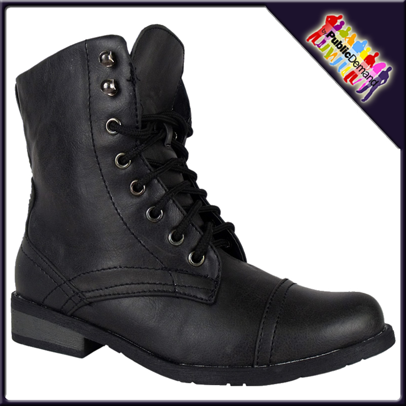 Girls' Combat Boots. Showing 48 of results that match your query. Search Product Result. Product - Wonder Nation Girls' Fashion Cowboy Boot. Product - Bella Marie NEWYORKK Girl Kids Girls Youth Fold Over Combat Print Boots Synthetic Shoes. Product Image. Price $ Product Title.