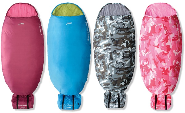 GELERT-JUNIOR-CHILDRENS-KIDS-SLEEPING-POD-BAG-CAMPING-EQUIPMENT-VARIOUS-COLOURS