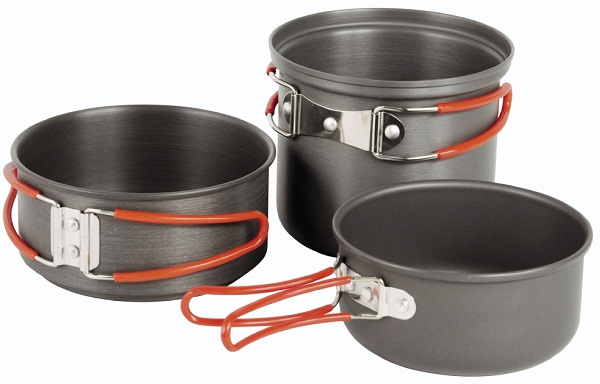 Cooking Equipment : ... Value - ROBENS SOLO COOK SET CAMP/CAMPING/COOKING EQUIPMENT POTS NEW