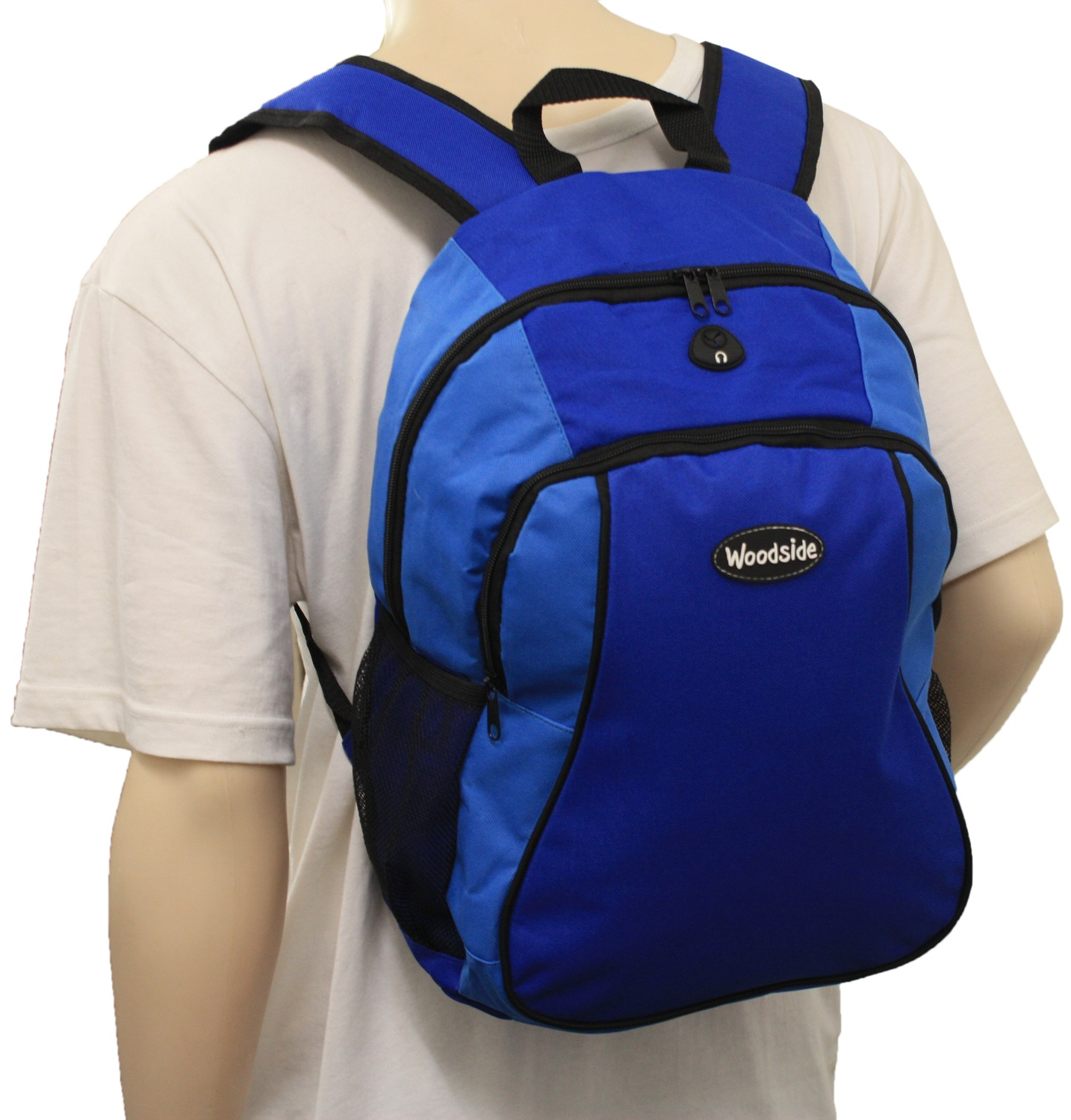 ... WOODSIDE 25 LITRE RUCKSACK/BACKPACK ADULTS/CHILDS SCHOOL COLLEGE BAG