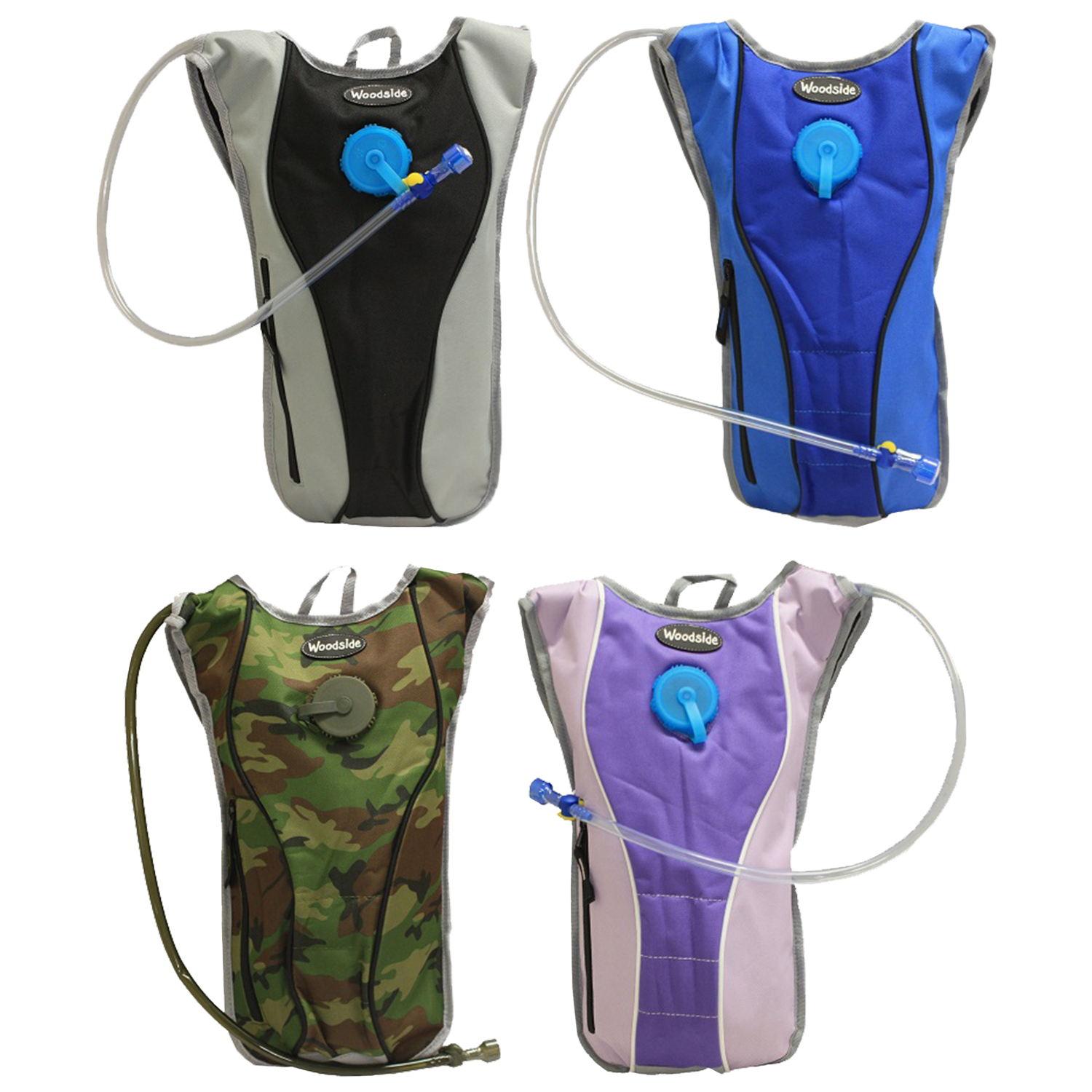 Woodside 2l Hydration Pack Water Rucksack Backpack Cycling