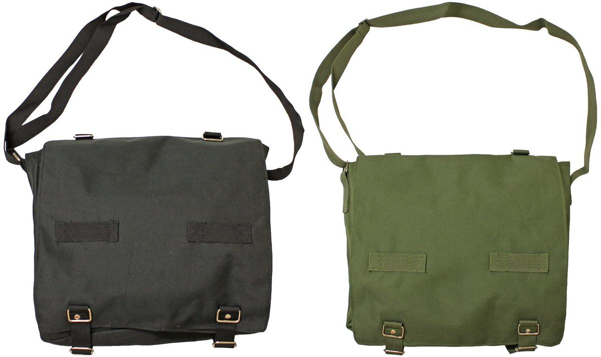 Woodside Army Satchel Bag
