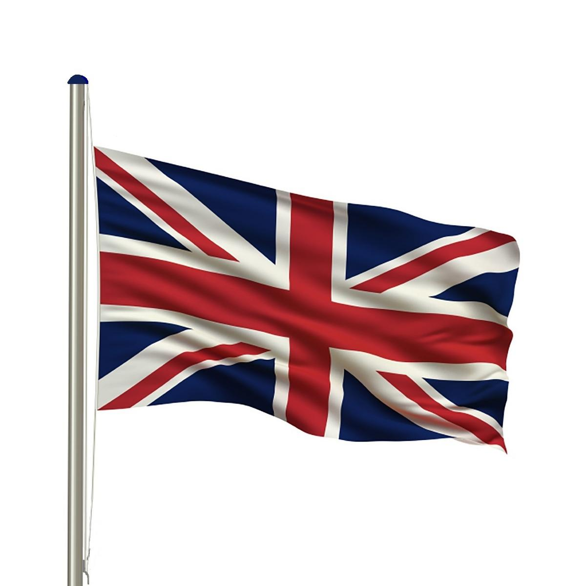 Woodside Flag Pole with Union Jack Flag