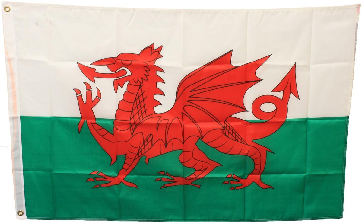 Woodside Wales Flag