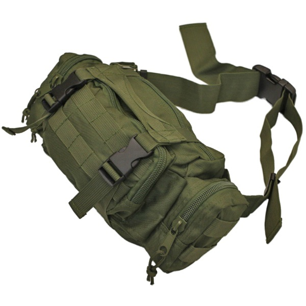 Olive green military army molle bum bag waist bag hunting shooting hiking travel ebay for Does olive garden give military discount