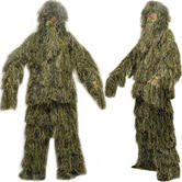 View Item Nitehawk Camouflage Kids Ghillie Suit