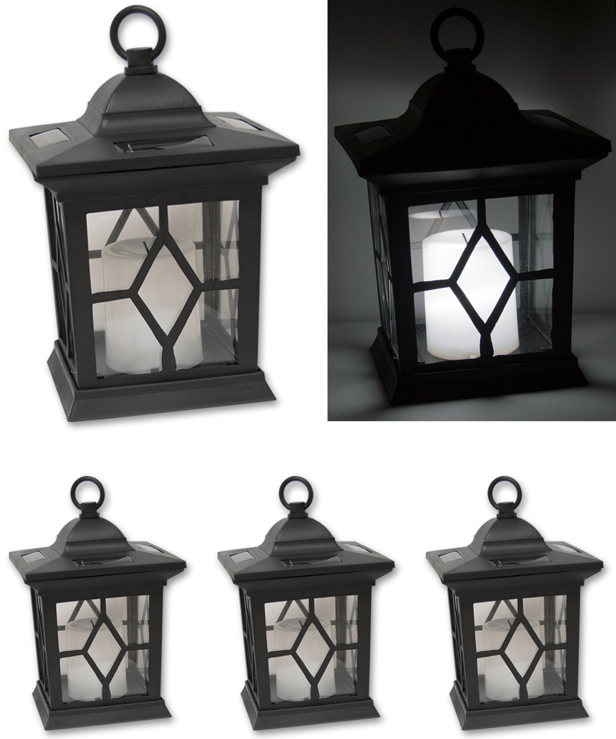 2 X 2 X Woodside Hanging Candle Lanterns Lighting Outdoor Value
