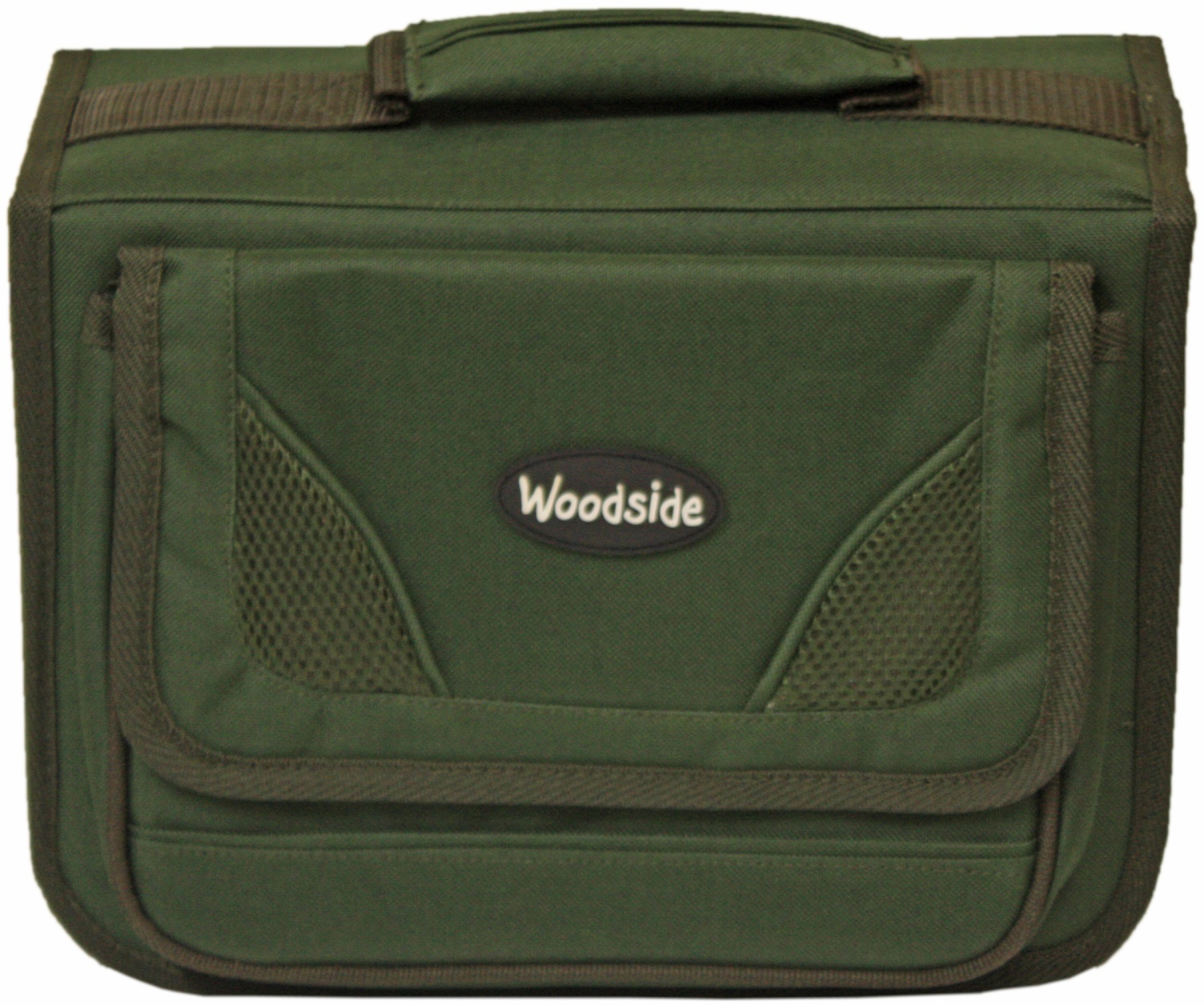 Woodside rig wallet fishing tackle carry bag bit box with for Rigged fishing backpack