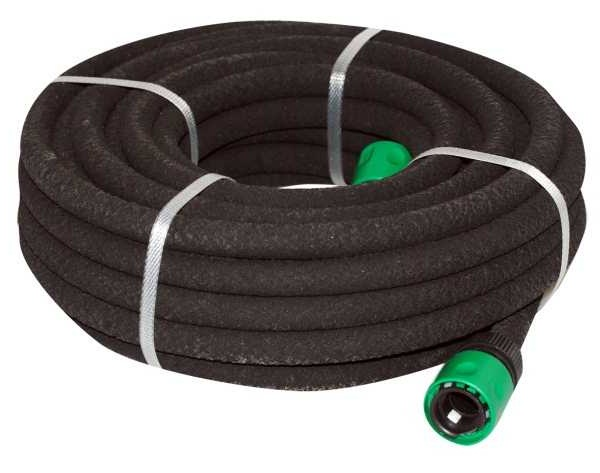 outdoor garden hose pipe soaker black 15 metres equipment heavy duty