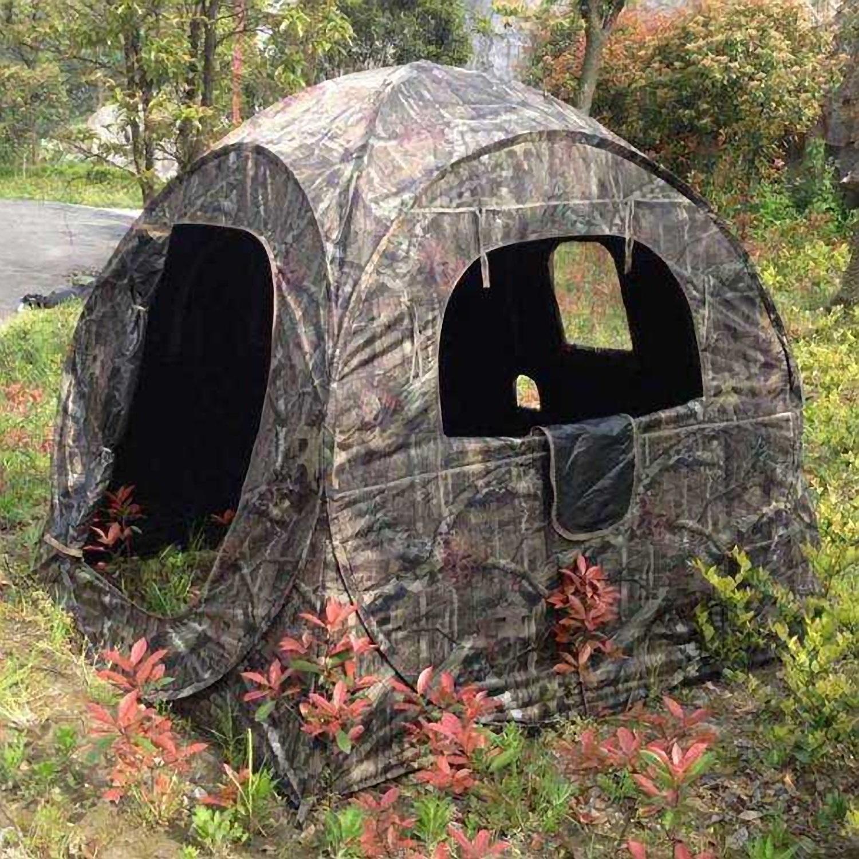 Nitehawk Pop Up Camo Hunting Tent Photography Shooting