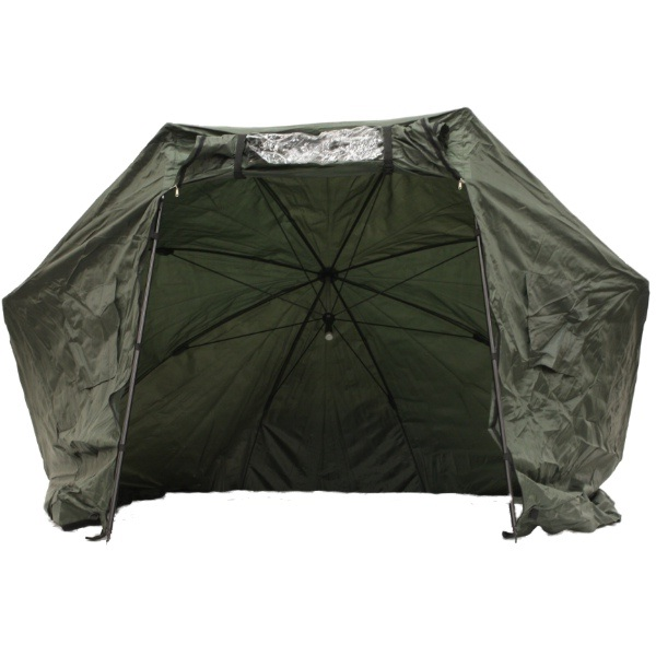 Fishing umbrella tent coarse carp pike 3m bivvy bivvi large olive green for Does olive garden give military discount