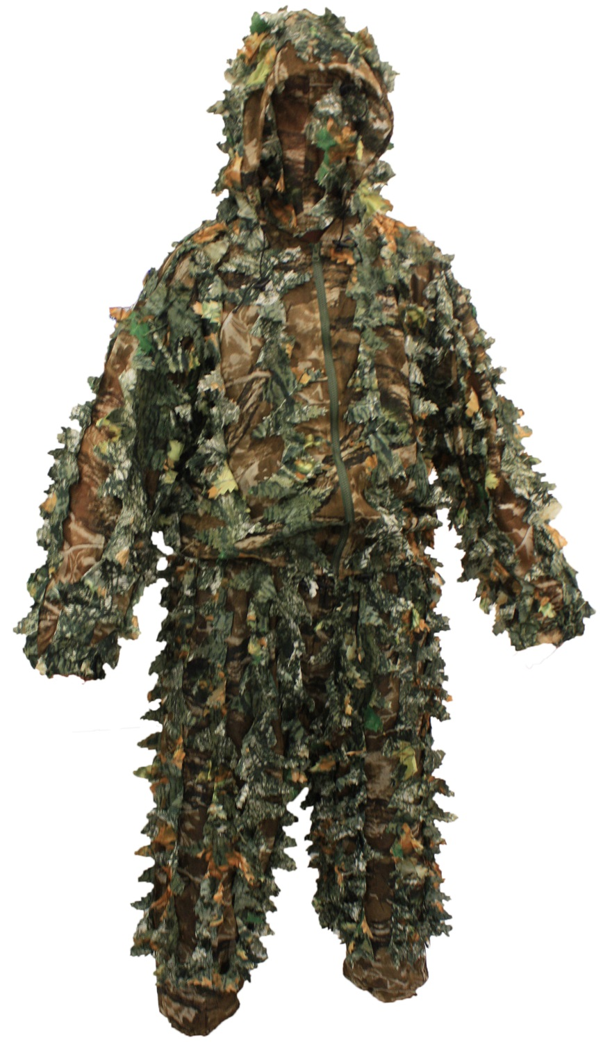 61c017075f30c WOODSIDE KIDS/CHILDRENS 3D LEAF SUIT WITH MASK CAMO/CAMOUFLAGE ...